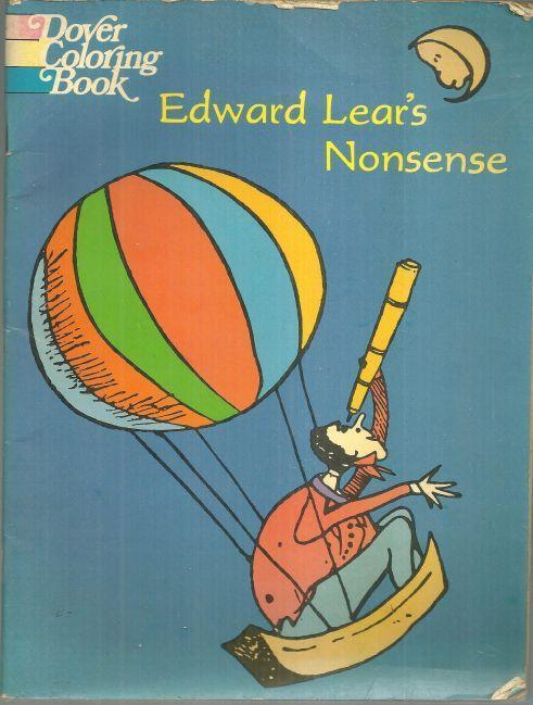 Image for EDWARD LEAR'S NONSENSE BOOK A Dover Coloring Book