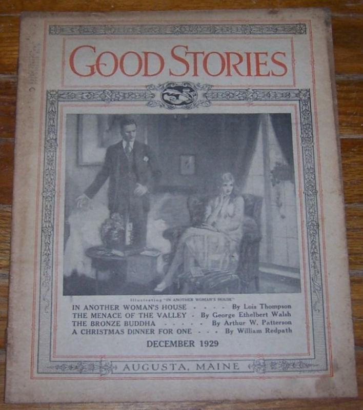 GOOD STORIES MAGAZINE DECEMBER 1929, Good Stories