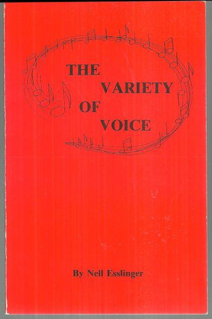 Image for VARIETY OF VOICE
