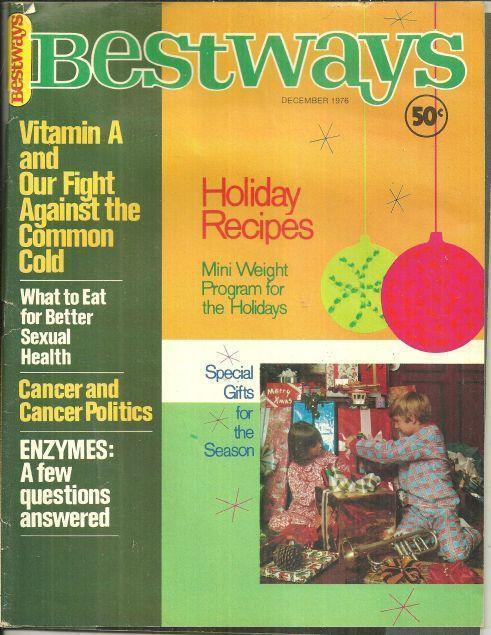BESTWAYS MAGAZINE DECEMBER 1976, Bestways