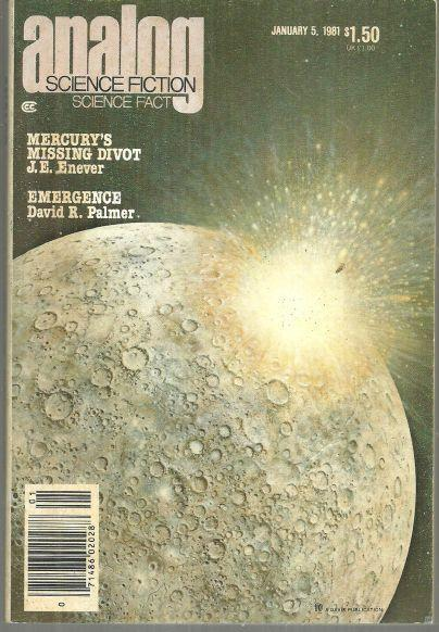 ANALOG, SCIENCE FICTION, SCIENCE FACT MAGAZINE JANUARY 5, 1981, Analog