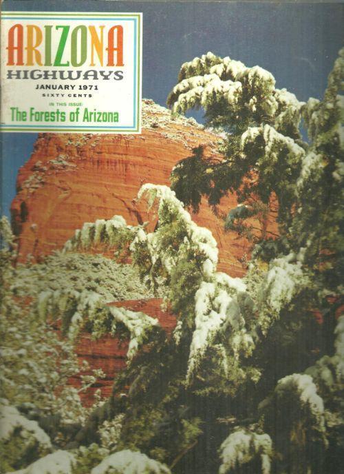 ARIZONA HIGHWAYS JANUARY 1971, Arizona Highway Department