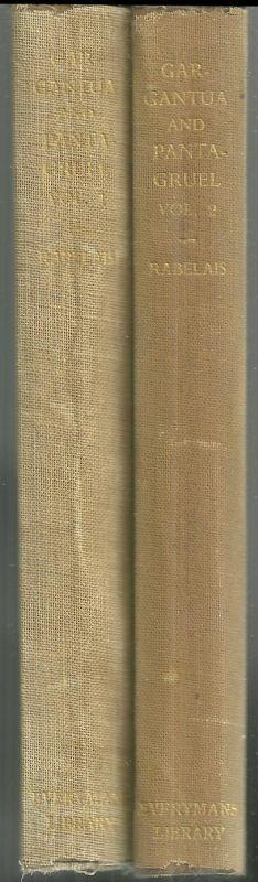 GARGANTUA AND PANTAGRUEL Two Volumes, Rabelais, Francois