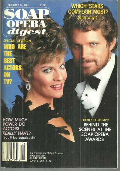 SOAP OPERA DIGEST FEBRUARY 10, 1987, Soap Opera Digest
