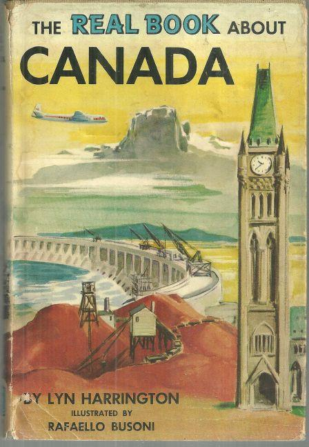 REAL BOOK ABOUT CANADA, Harrington, Lyn