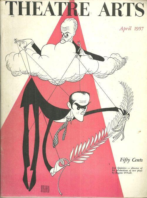 THEATRE ARTS MAGAZINE APRIL 1957, Theatre Arts