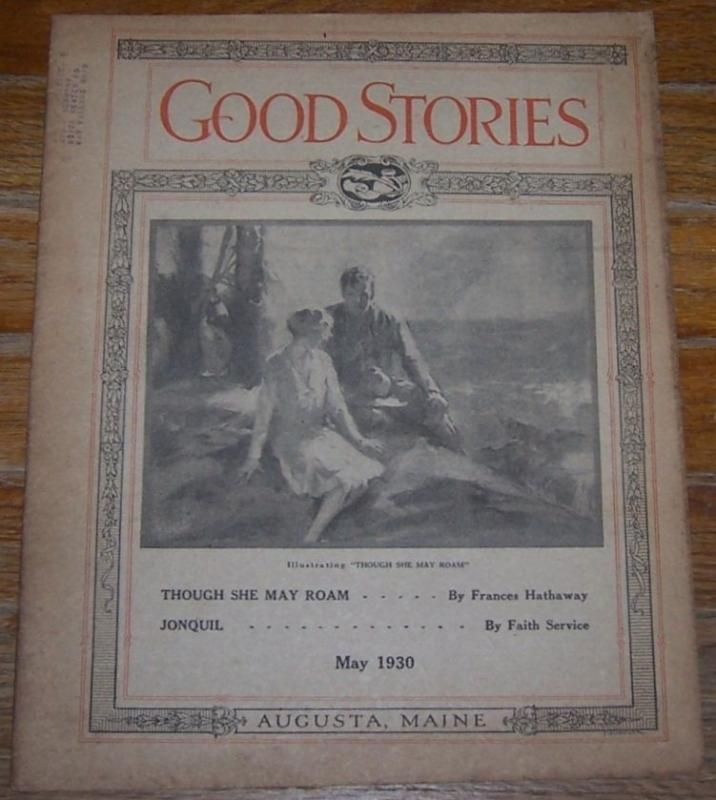 GOOD STORIES MAGAZINE MAY 1930, Good Stories