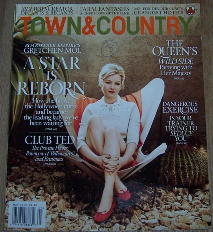TOWN AND COUNTRY MAGAZINE MAY 2012, Town and Country