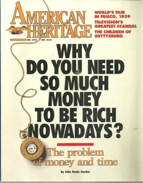 Image for AMERICAN HERITAGE MAGAZINE MAY/JUNE 1989