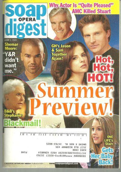 SOAP OPERA DIGEST - Soap Opera Digest June 2, 2009