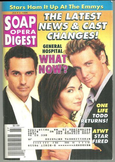 SOAP OPERA DIGEST - Soap Opera Digest July 2, 1996