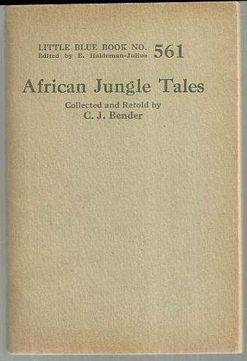 Image for AFRICAN JUNGLE TALES