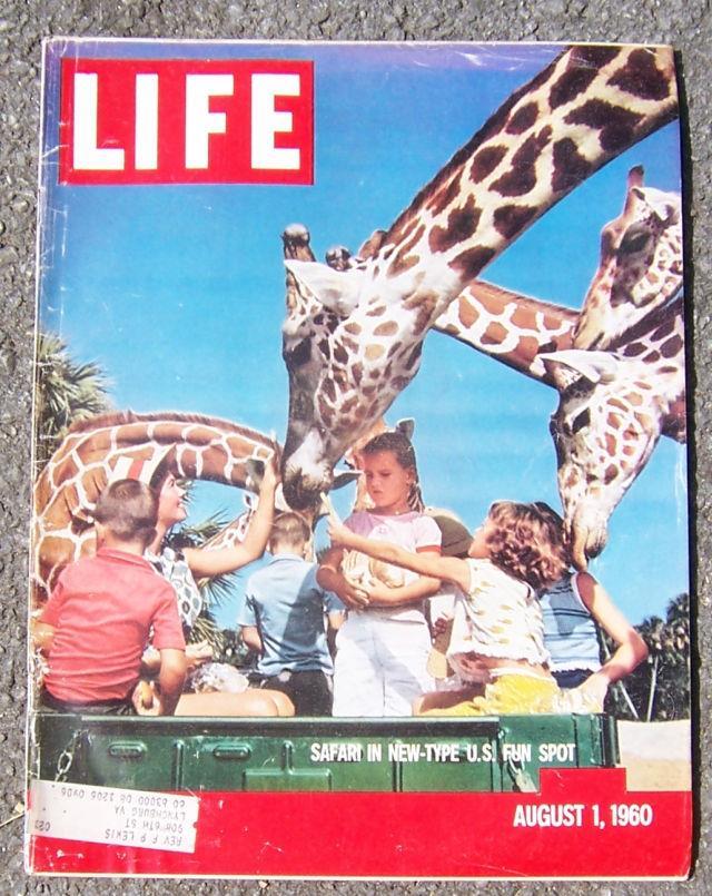 LIFE MAGAZINE AUGUST 1, 1960, Life Magazine