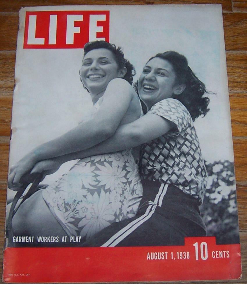 LIFE MAGAZINE AUGUST 1, 1938, Life Magazine