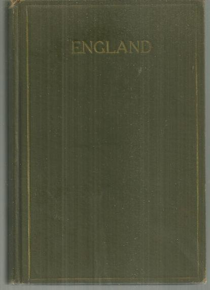 ENGLAND An Account of Past and Contemporary Conditions and Progress, Hall, John