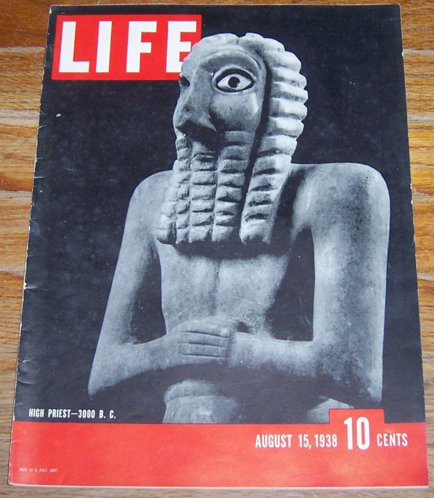 LIFE MAGAZINE AUGUST 15, 1938, Life Magazine