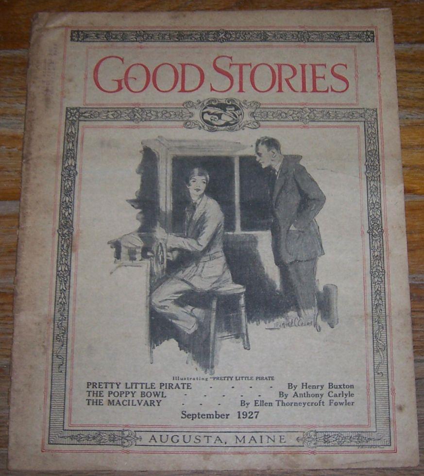 GOOD STORIES MAGAZINE SEPTEMBER 1927, Good Stories