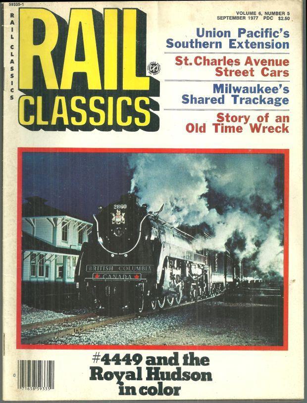 Image for RAIL CLASSICS MAGAZINE SEPTEMBER 1977