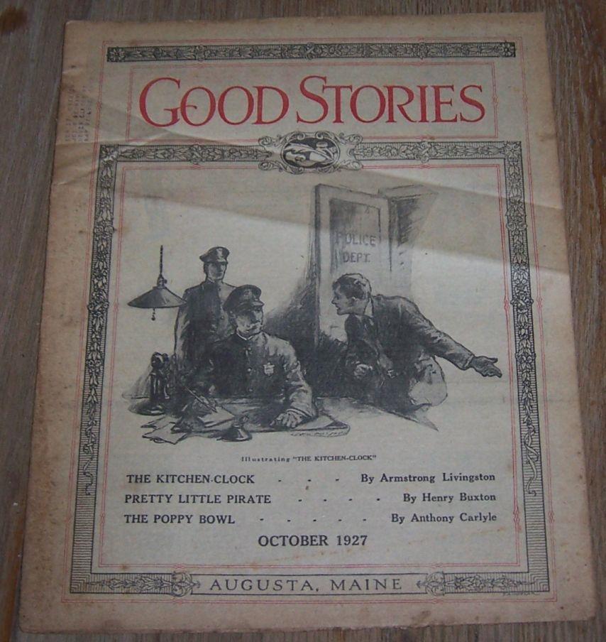 GOOD STORIES MAGAZINE OCTOBER 1927, Good Stories