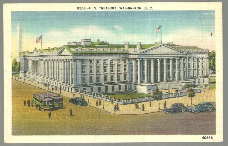 Image for U. S. TREASURY, WASHINGTON, D. C.