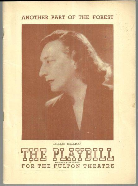 ANOTHER PART OF THE FOREST, FEBRUARY 17, 1947, Playbill