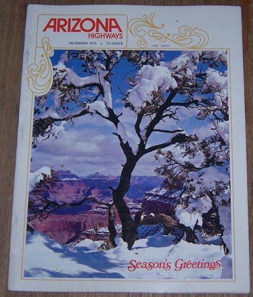 ARIZONA HIGHWAYS MAGAZINE DECEMBER 1975, Arizona Highway Department