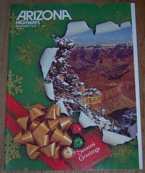 ARIZONA HIGHWAYS MAGAZINE DECEMBER 1978, Arizona Highway Department