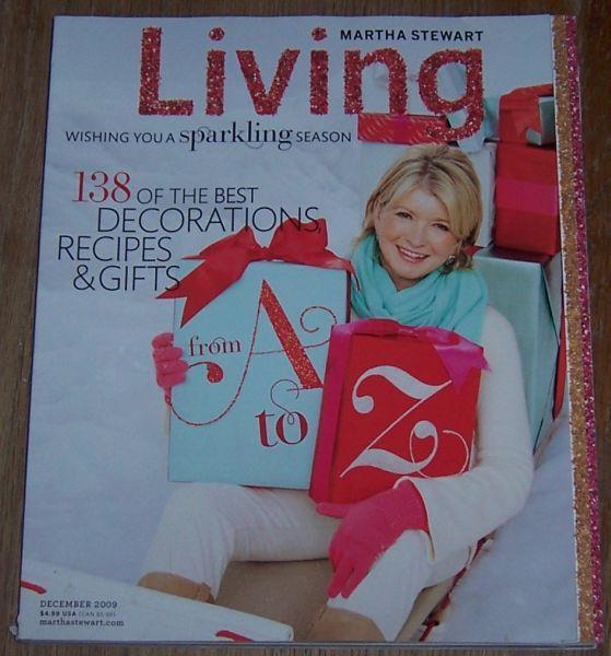Image for MARTHA STEWART LIVING MAGAZINE DECEMBER 2009