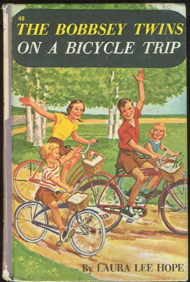 BOBBSEY TWINS ON A BICYCLE TRIP, Hope, Laura Lee