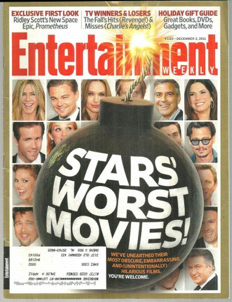ENTERTAINMENT WEEKLY MAGAZINE DECEMBER 2, 2011, Entertainment Weekly