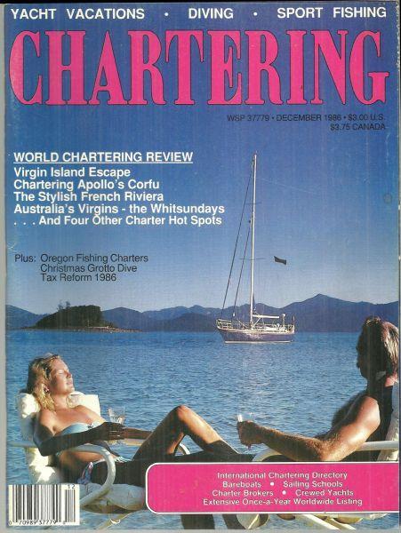 CHARTERING MAGAZINE DECEMBER 1986, Chartering