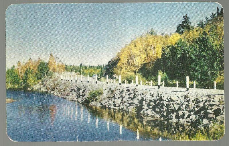 Image for NORTHERN HIGHWAYS SKIRT JEWEL-LIKE LAKES PROVIDING MANY SCENES LIKE THIS, KAKABEKA FALLS HOTEL, KAKABEKA FALLS, ONTARION, CANADA
