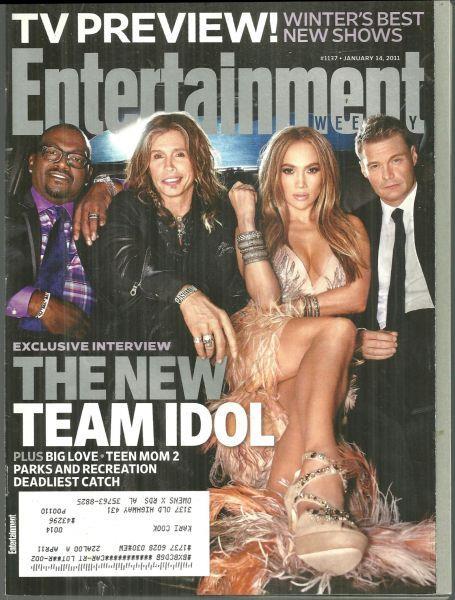 ENTERTAINMENT WEEKLY MAGAZINE JANUARY 14, 2011, Entertainment Weekly