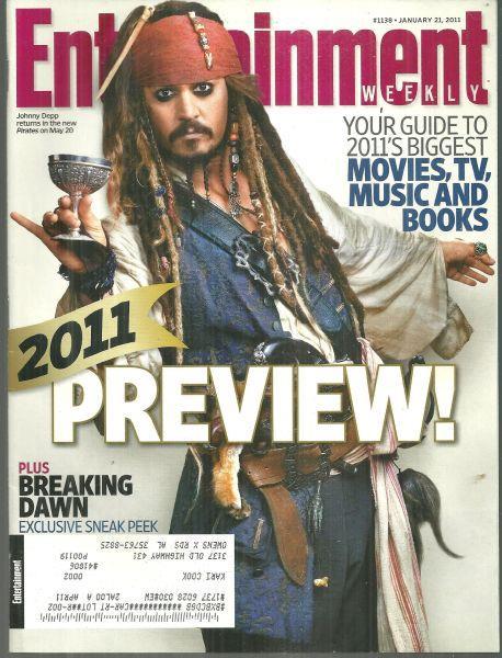 ENTERTAINMENT WEEKLY MAGAZINE JANUARY 21, 2011, Entertainment Weekly
