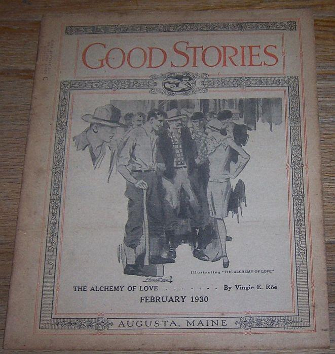 GOOD STORIES MAGAZINE FEBRUARY 1930, Good Stories