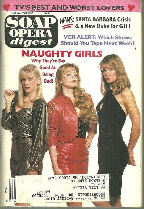 SOAP OPERA DIGEST FEBRUARY 20, 1990, Soap Opera Digest