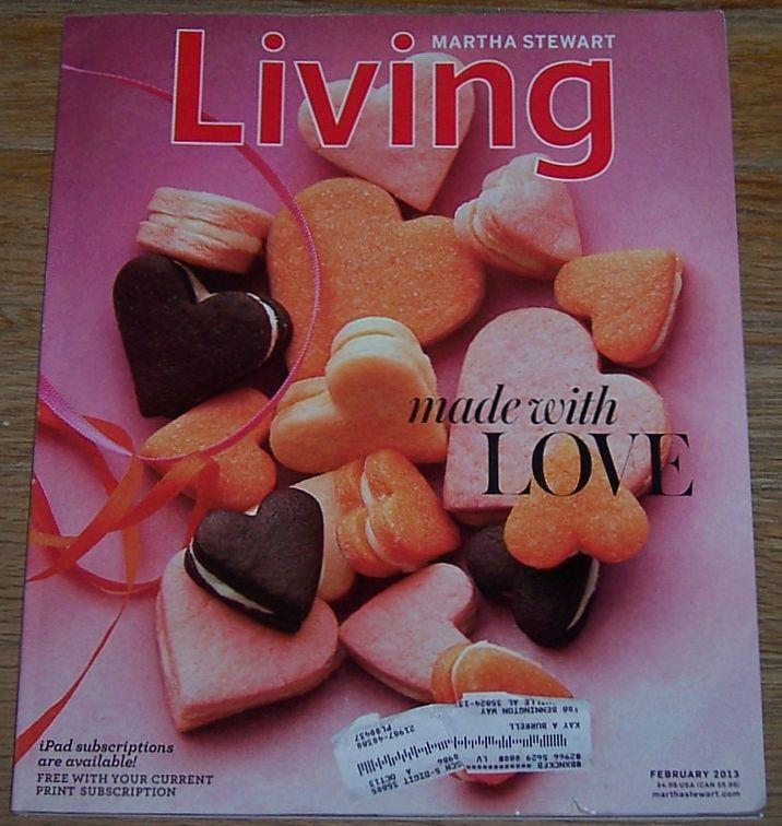 Image for MARTHA STEWART LIVING MAGAZINE FEBRUARY 2013