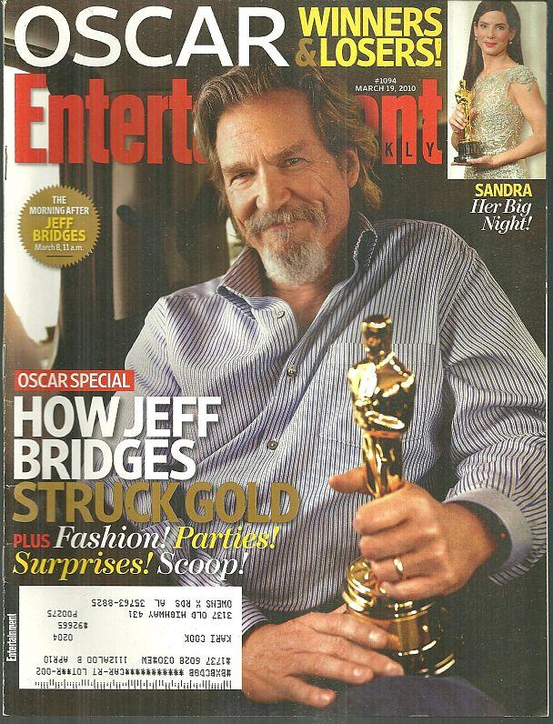 ENTERTAINMENT WEEKLY MAGAZINE MARCH 19, 2010, Entertainment Weekly