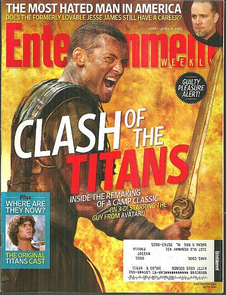 ENTERTAINMENT WEEKLY MAGAZINE APRIL 9, 2010, Entertainment Weekly