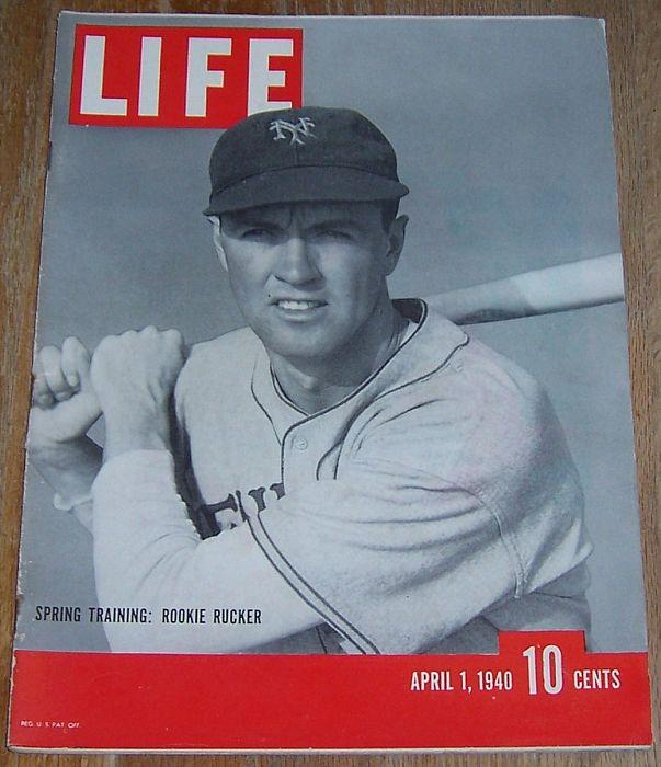 LIFE MAGAZINE APRIL 1, 1940, Life Magazine