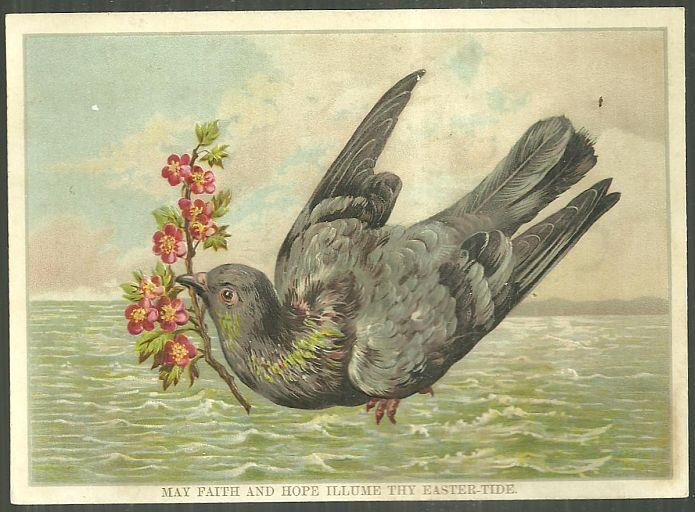 Image for EASTERTIDE GREETING CARD WITH LARGE BIRD
