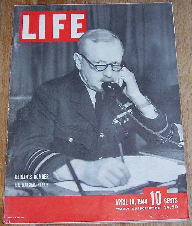 LIFE MAGAZINE APRIL 10, 1944, Life Magazine