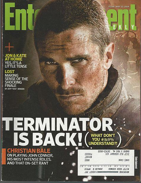 ENTERTAINMENT WEEKLY MAGAZINE MAY 22, 2009, Entertainment Weekly
