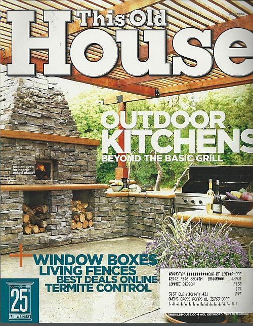 THIS OLD HOUSE MAGAZINE MAY 2004, This Old House