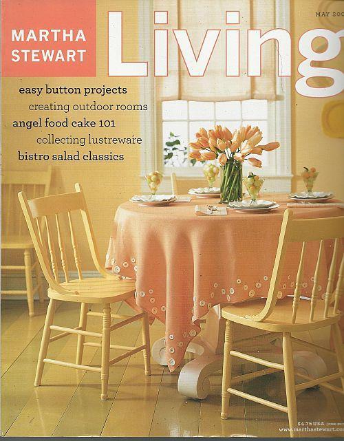 Image for MARTHA STEWART LIVING MAGAZINE MAY 2003