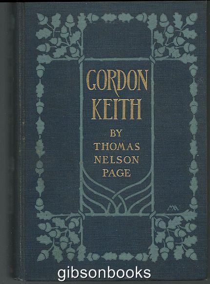 GORDON KEITH, Page, Thomas Nelson