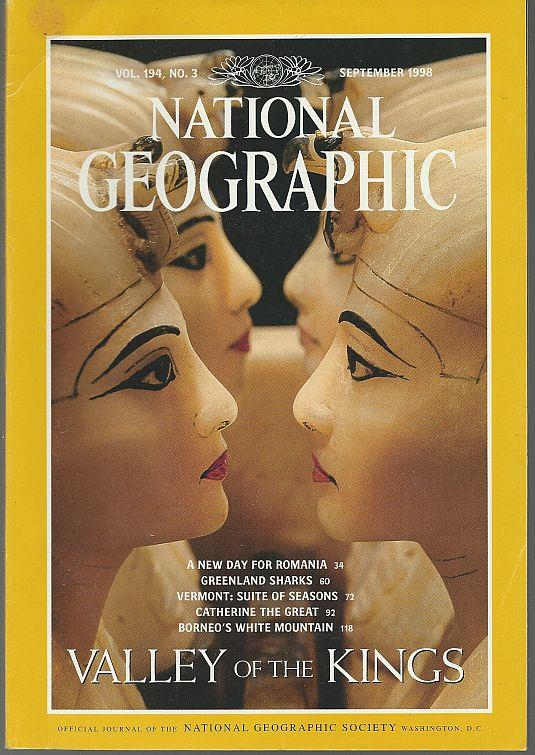 NATIONAL GEOGRAPHIC MAGAZINE SEPTEMBER 1998, National Geographic