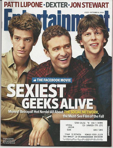 ENTERTAINMENT WEEKLY MAGAZINE OCTOBER 8, 2010, Entertainment Weekly