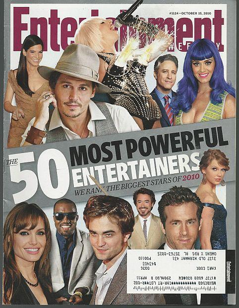 ENTERTAINMENT WEEKLY MAGAZINE OCTOBER 15, 2010, Entertainment Weekly