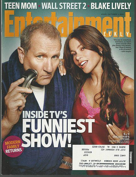 ENTERTAINMENT WEEKLY MAGAZINE OCTOBER 1, 2010, Entertainment Weekly